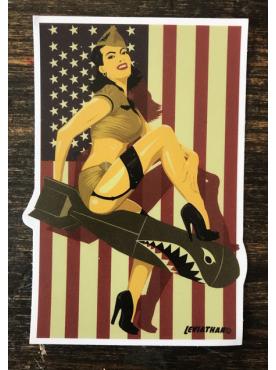 BOMBSHELL ATTACK - Sticker