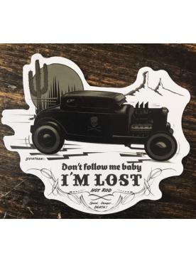 I'M LOST - Sticker