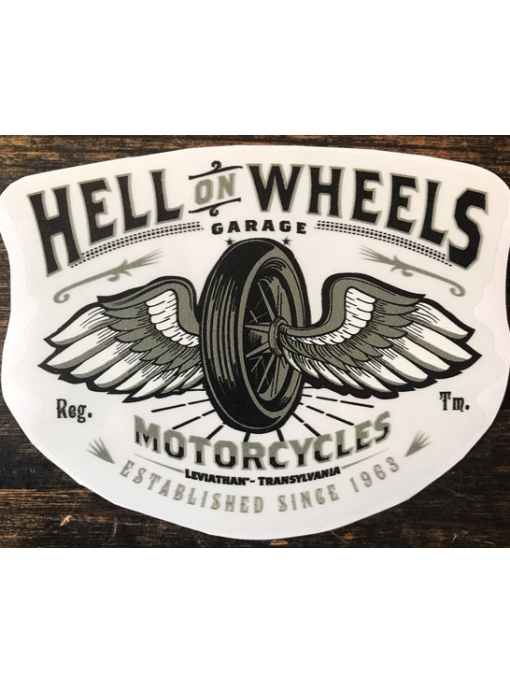 HELL ON WHEELS - Sticker