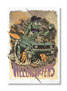 THE HELLACOPTERS - Poster
