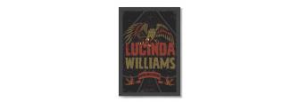 LUCINDA WILLIAMS - Poster