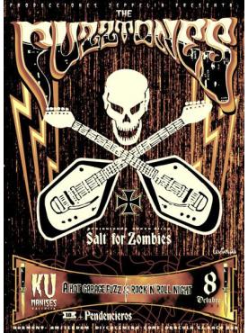 THE FUZZTONES - VOX Poster