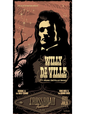 WILLY DEVILLE - Poster