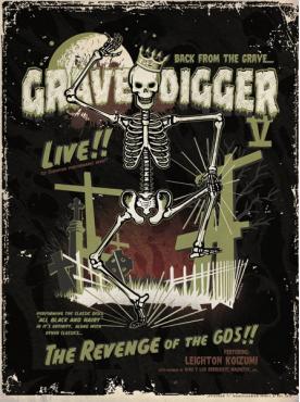 GRAVEDIGGER V - Tour Poster