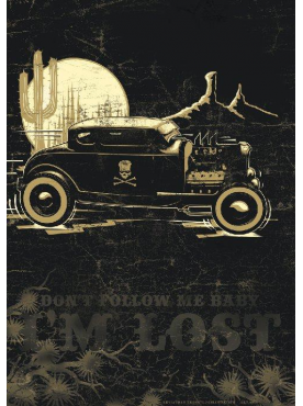 DON'T FOLLOW ME BABY, I'M LOST - Poster