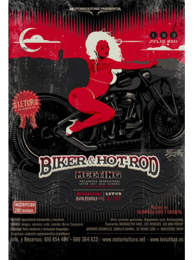 Biker & Hot Rod Meeting 2011- Poster
