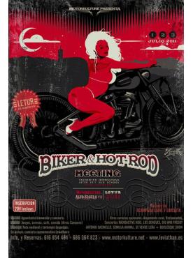 Biker & Hot Rod Meeting 2011- Poster