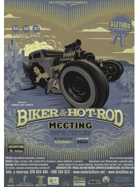 Biker & Hot Rod Meeting 2010 - Poster