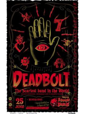 DEADBOLT - Poster