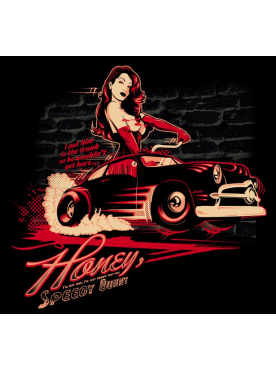 HONEY SPEEDY BUNNY - Poster