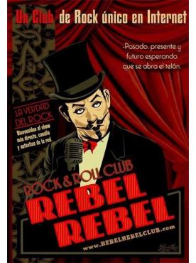 REBEL REBEL CLUB - Poster